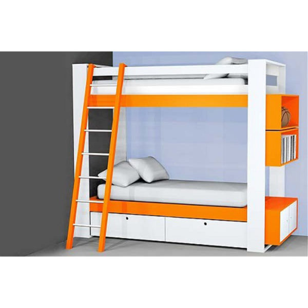 Stylish Bunk Bed for Two Childrens Model 1809