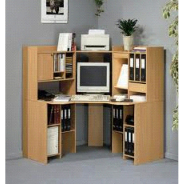 Corner Computer Workstation with Multi Options Model 2208