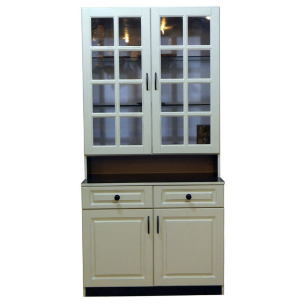 Kitchen Cabinet Imported Sheet and Glass Door Model 510