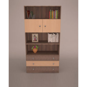 Book Rack, Rack, Furniture, Wardrobe, Drawer, Wood, Solid Wood,Double Door Wardrobe