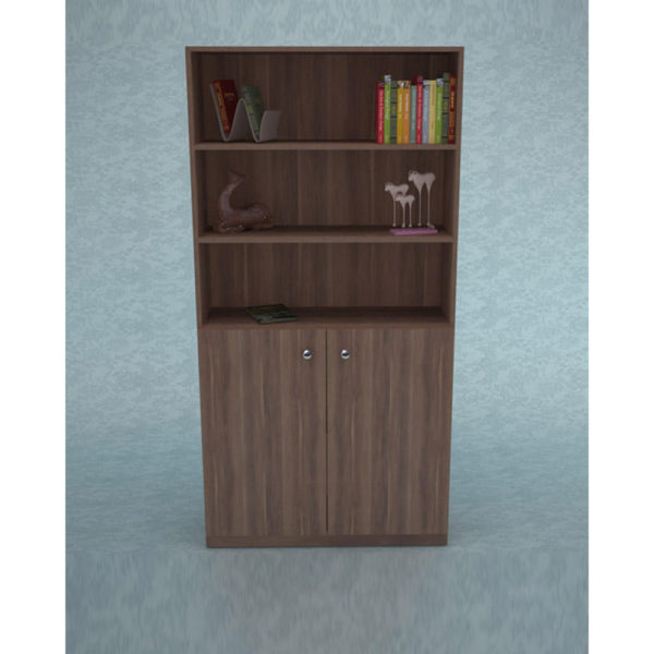 Book Rack with Cabinet Model 568