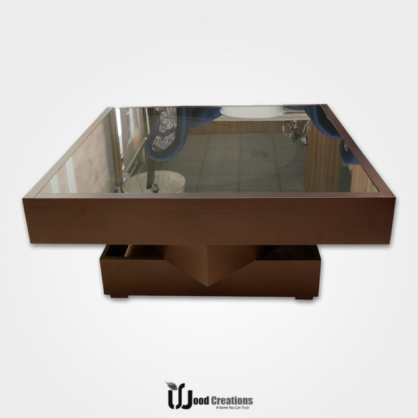 Wooden 3 Piece Center Table Set