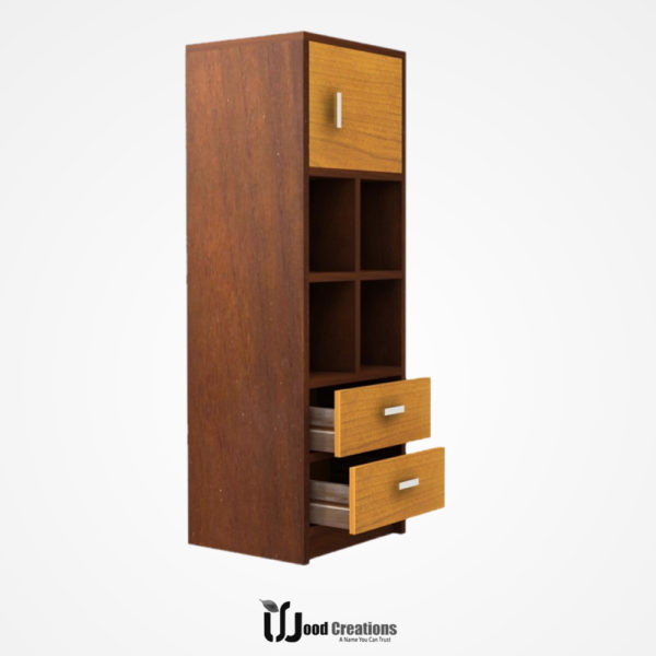 File Rack with Storage Drawer model-115