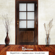 Urban Door ,Wooden Door, Door, Solid Glass Door, Ash wood door, Flush Door