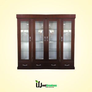 WC Showcase 4 Doors with Glass