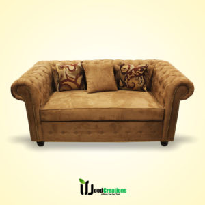 Round Shape Classic Sofa Set With Cushions