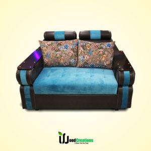 Colorful Round Shape Classic Sofa Set