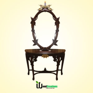 Splendid Entry Console Table With Mirror