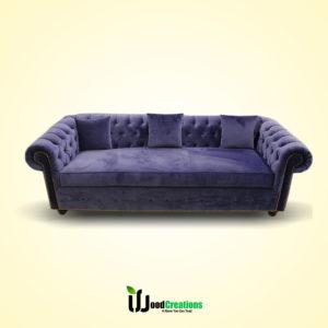 Round Shape Classic Sofa Set With Cushions