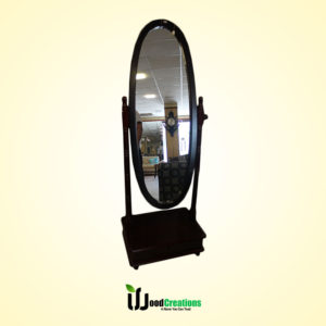 Oval Shape Mirror with Stand