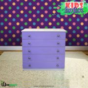 Kids Chester Drawer Purple