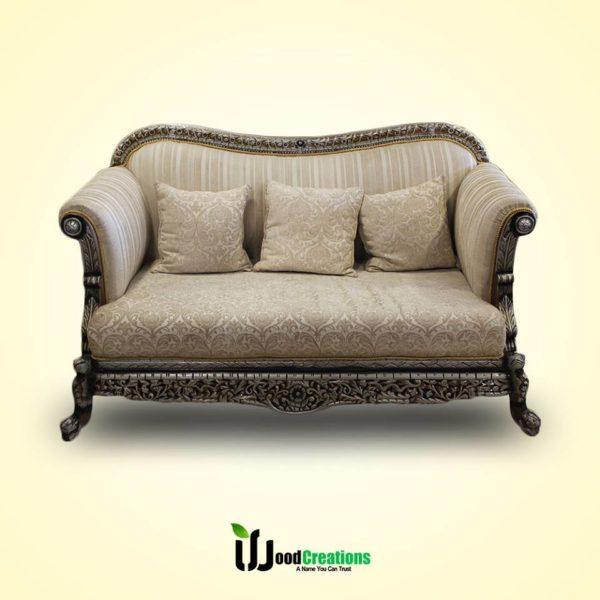 Classic Chinoti Style Sofa Set with Cushions | WoodCreations
