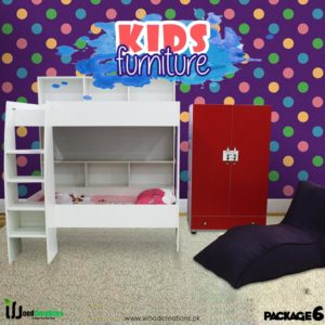 Kids Bunk Bed White Package ( 5 )