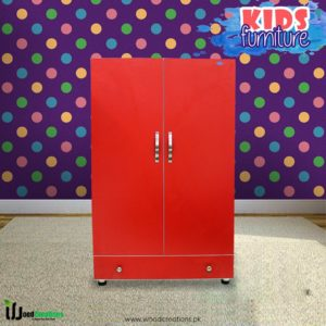 Kids Wardrobe Red