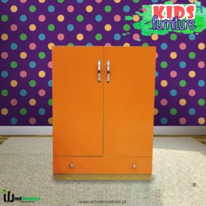 Kids Wardrobe Cloudy Orange