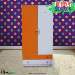 Wardrobe Orange & White